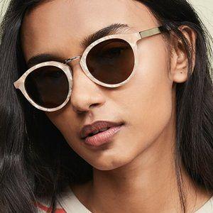 Madewell Indio Sunglasses In Bashful Blush